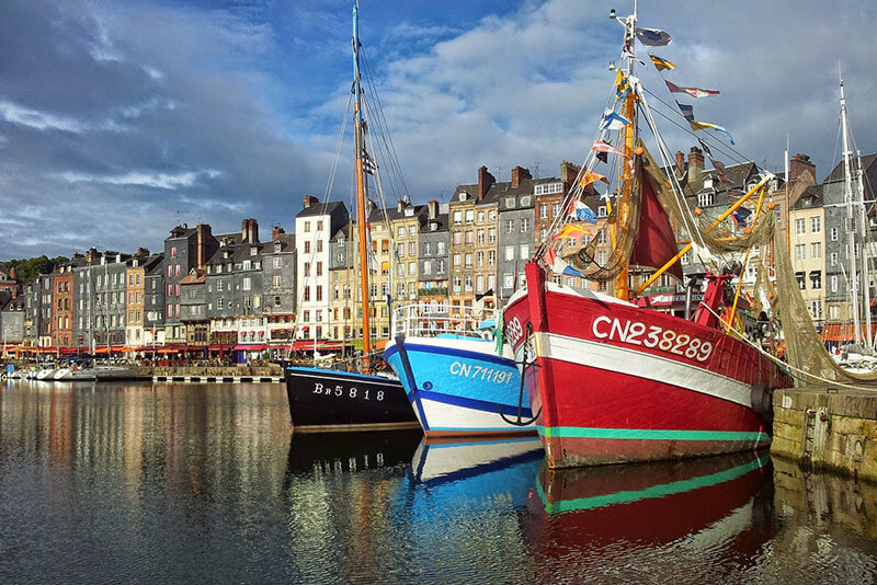 Honfleur-port-Marvels-of-the-Seine-valley-in-Normandy-private-guided-tours-from-Paris-by-DriverGuideFrance