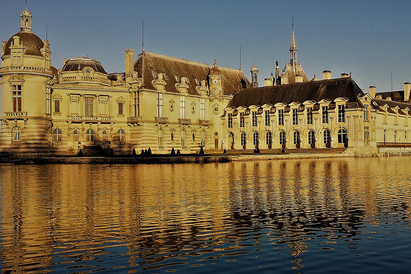 Private Guided Tours From Paris By Car By Driver-Guide-France Castles of Chantilly & Ecouen