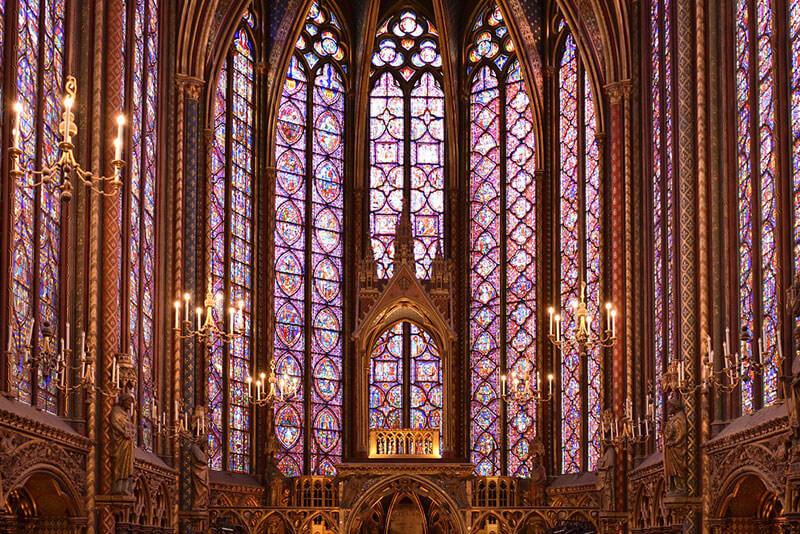 Sainte-Chapel-Paris-Private-guided-tours-by-driver-guide-france