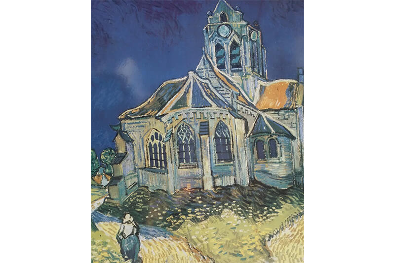 Auvers-sur-Oise-Church-Van-Go-Painting-Driver-Guide-France-Private-guided-tour-from-Paris