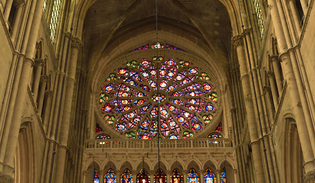 The Cathedral Inside: The Rosace